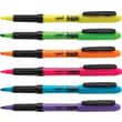 Staples® Hype!™ Gripped Pen Style Highlighters, Chisel Tip, Assorted Colors, 6/Pack