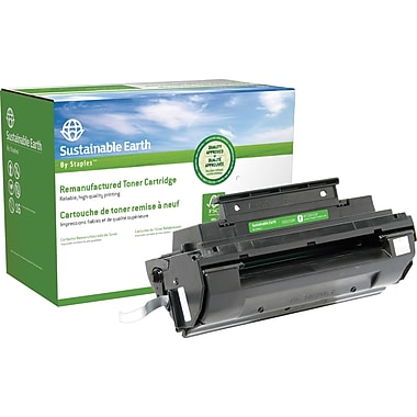 Sustainable Earth by Staples Reman Black Toner Cartridge, Panasonic UG3350 (SEB3350R)
