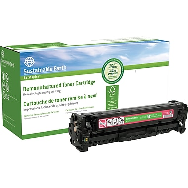Staples™ Remanufactured Magenta Toner Cartridge, Canon 118 (SEB2025MR)