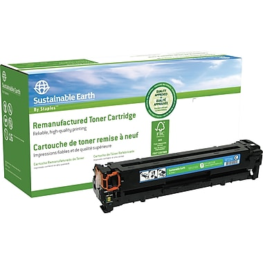 Staples™ Remanufactured Cyan Toner Cartridge, Canon 116 (SEB1215CR)