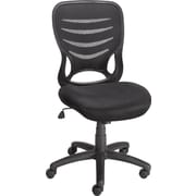 Staples® Nexia™ Mesh Task Chair, Black