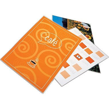 Swingline™ GBC® HeatSeal™ Ultra Clear Laminating Pouches, Menu Size, 11