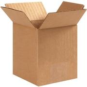 4''x4''x6'' Standard Corrugated Shipping Box, 200#/ECT, 25/Bundle (PRA0002)