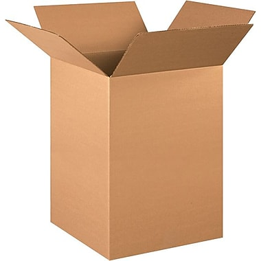 15in.(L) x 15in.(W) x 24in.(H) - Staples® Corrugated Shipping Boxes