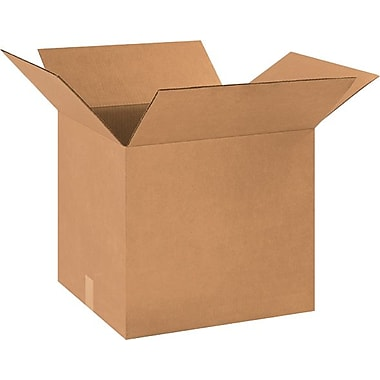 18in.(L) x 16in.(W) x 16in.(H) - Staples® Corrugated Shipping Boxes