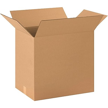 20in.(L) x 14in.(W) x 18in.(H) - Staples® Corrugated Shipping Boxes, 20/Bundle