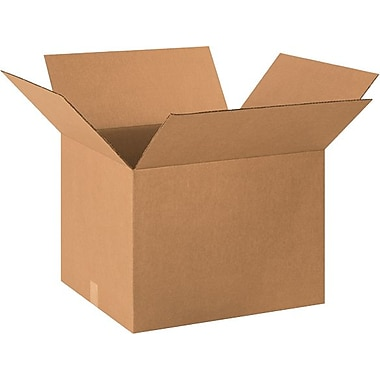 20in.(L) x 18in.(W) x 14in.(H) - Staples® Corrugated Shipping Boxes, 10/Bundle
