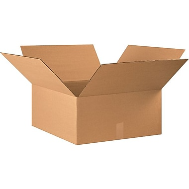 22in.(L) x 20in.(W) x 10in.(H) - Staples® Corrugated Shipping Boxes, 15/Bundle