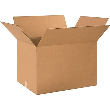 24in.(L) x 17in.(W) x 15in.(H) - Staples® Corrugated Shipping Boxes, 15/Bundle