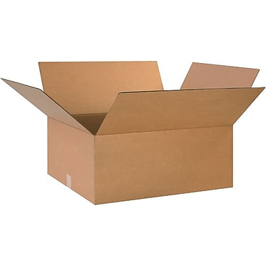 26in.(L) x 20in.(W) x 10in.(H) - Staples® Corrugated Shipping Boxes, 15/Bundle