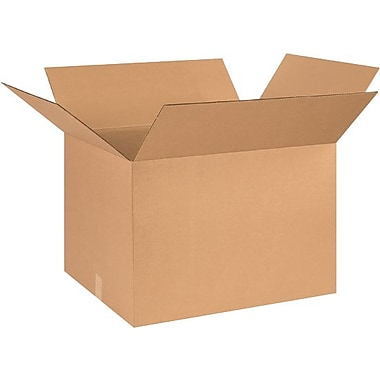 26in.(L) x 20in.(W) x 18in.(H) - Staples® Corrugated Shipping Boxes, 10/Bundle