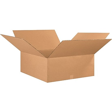 26in.(L) x 26in.(W) x 10in.(H) - Staples® Corrugated Shipping Boxes, 10/Bundle
