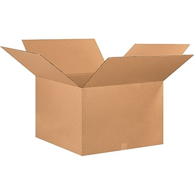 26in.(L) x 26in.(W) x 16in.(H) - Staples® Corrugated Shipping Boxes