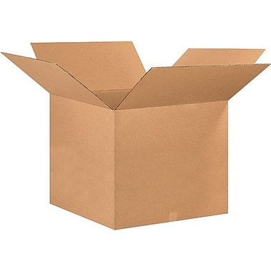 26in.(L) x 26in.(W) x 20in.(H) - Staples® Corrugated Shipping Boxes, 10/Bundle