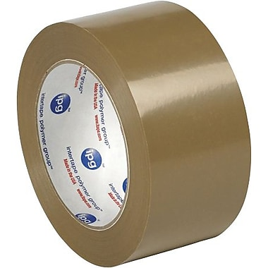 Intertape® 530PVC Carton Sealing Tape, 2in. x 55 yds., Tan, 36/Case