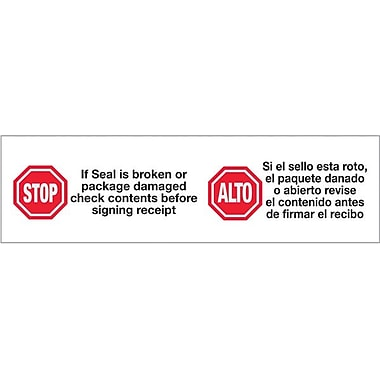 2in. x 110 yds. - in.Stop / Altoin. Tape Logic™ Pre-Printed Carton Sealing Tape, 36/Case