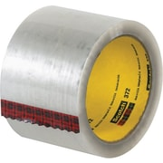 3M #372 Hot Melt Packaging Tape, 3 x 55 yds., Clear, 24/Case