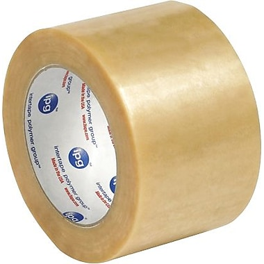 Intertape® 530PVC Carton Sealing Tape, 3in. x 110 yds., Clear, 24/Case