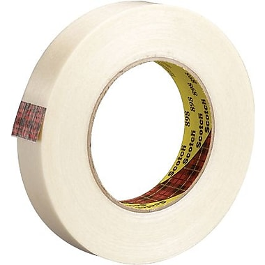 Scotch® #898 High Performance Grade Filament Tape, 3/4