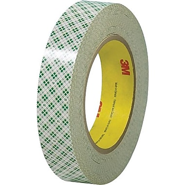 Scotch® #410 Double Sided Masking Tape, 1in. x 36 yds., 3/Pack