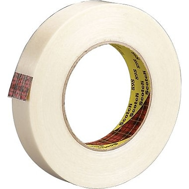 Scotch® #898 High Performance Grade Filament Tape, 3/8in. x 60 yds., 12/case