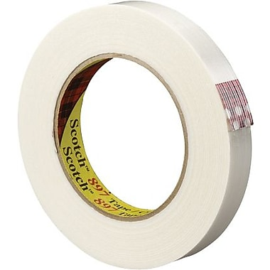 Scotch® #897 Medium Grade Filament Tape, 1in. x 60 yds., 12/Case
