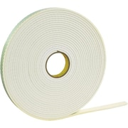 3M 4008 Double Sided Foam Tape, 3/4 x 36 yds., 1/8, 1/Pack