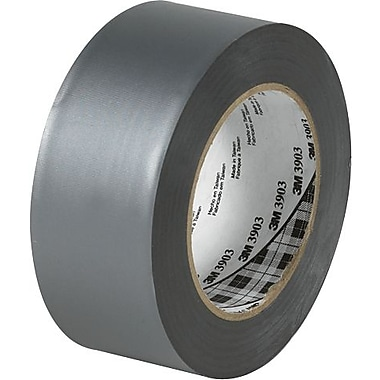 3M™ 3903 Silver Duct Tape, 2in. x 50 yds., 3 Rolls/Case