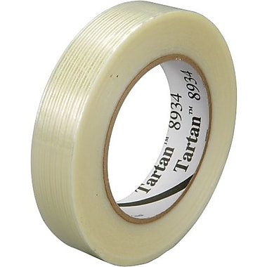 Scotch® Tartan #8934 Utility Grade Filament Tape, 1in.x60yds., 12/Case