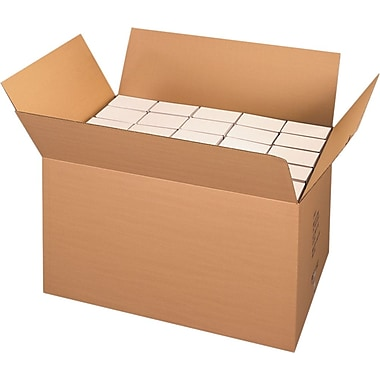 36in.(L) x 22in.(W) x 22in.(H) - Staples® Heavy-Duty Double-wall Boxes, 5/Bundle