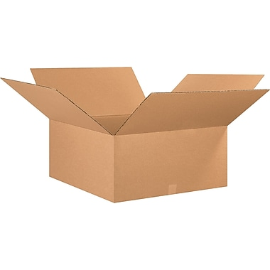 30in.(L) x 30in.(W) x 12in.(H) - Staples® Corrugated Shipping Boxes, 10/Bundle