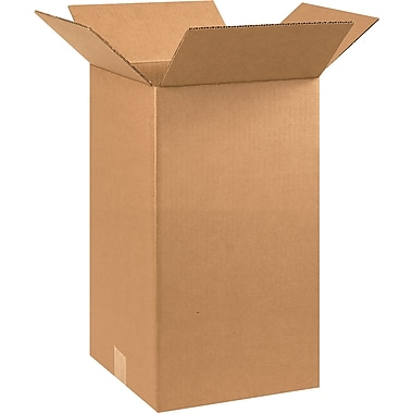 10in.(L) x 10in.(W) x 18in.(H) - Staples® Corrugated Shipping Boxes