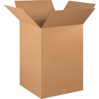 20in.(L) x 20in.(W) x 30in.(H) - Staples® Corrugated Shipping Boxes, 10/Bundle