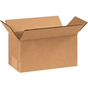 9(L) x 4(W) x 4(H) - Staples® Corrugated Shipping Boxes, 25/Bundle