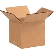 5(L) x 5(W) x 4(H) - Staples® Corrugated Shipping Boxes, 25/Bundle