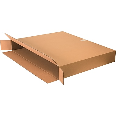 36in.(L) x 5in.(W) x 30in.(H) - Staples Side Loading Boxes