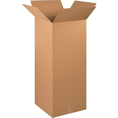 20in.(L) x 20in.(W) x 48in.(H) - Staples® Corrugated Shipping Boxes
