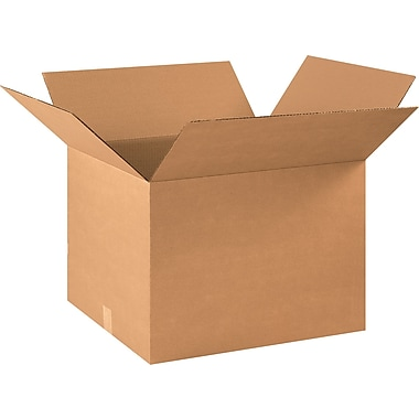 22in.(L) x 18in.(W) x 16in.(H) - Staples® Corrugated Shipping Boxes