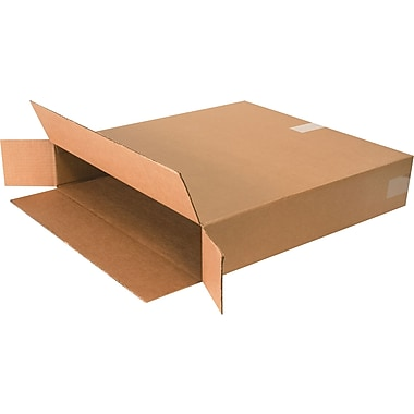 24in.(L) x 5in.(W) x 24in.(H) - Staples Side Loading Boxes