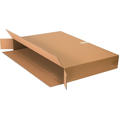 36in.(L) x 5in.(W) x 24in.(H) - Staples Side Loading Boxes