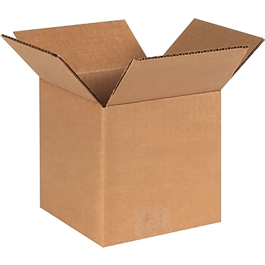 6''x6''x6'' Standard Shipping Box, 275#/ECT, 25/Bundle (HD666)