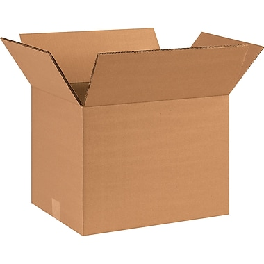 16''x12''x12'' Standard Shipping Box, 275#/ECT, 15/Bundle (HD161212DW)