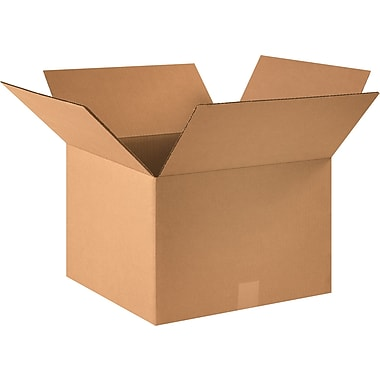 16in.(L) x 16in.(W) x 11in.(H) - Staples® Corrugated Shipping Boxes