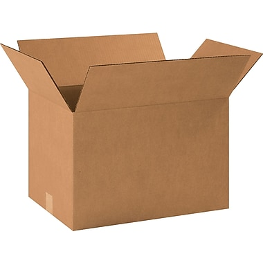 18.5in.(L) x 12.5in.(W) x 12in.(H) - Staples® Corrugated Shipping Boxes, 20/Bundle