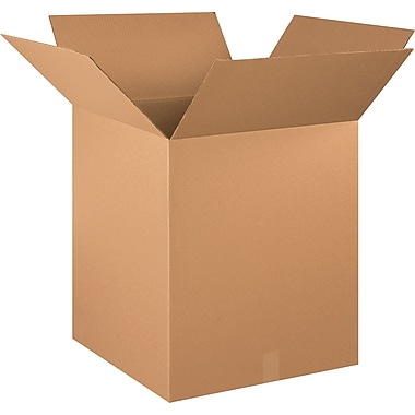 20in.(L) x 20in.(W) x 24in.(H) - Staples® Corrugated Shipping Boxes, 10/Bundle