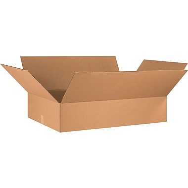 36in.(L) x 24in.(W) x 8in.(H) - Staples® Corrugated Shipping Boxes, 10/Bundle