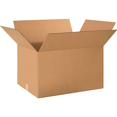 24in.(L) x 18in.(W) x 14in.(H) - Staples® Corrugated Shipping Boxes, 15/Bundle