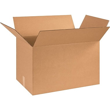 25in.(L) x 16in.(W) x 16in.(H) - Staples® Corrugated Shipping Boxes, 10/Bundle