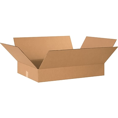 24in.(L) x 18in.(W) x 4in.(H) - Staples® Corrugated Shipping Boxes