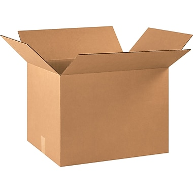 22in.(L) x 16in.(W) x 16in.(H) - Staples® Corrugated Shipping Boxes